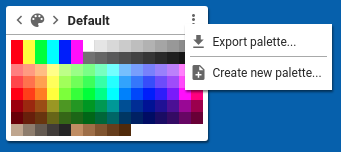 Create New Color palette